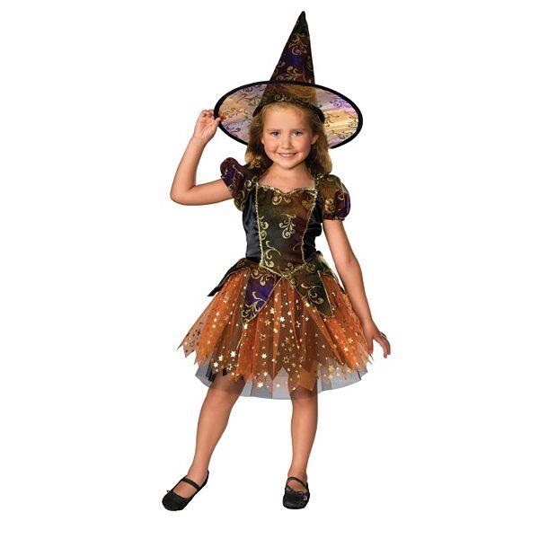 Elegant Witch Costume Girls