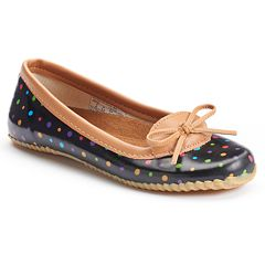 Western Chief Ditsy Dot Women's Skimmer Waterproof Rain Flats