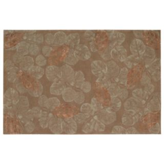 Nourison Julian Leaf Wool Rug