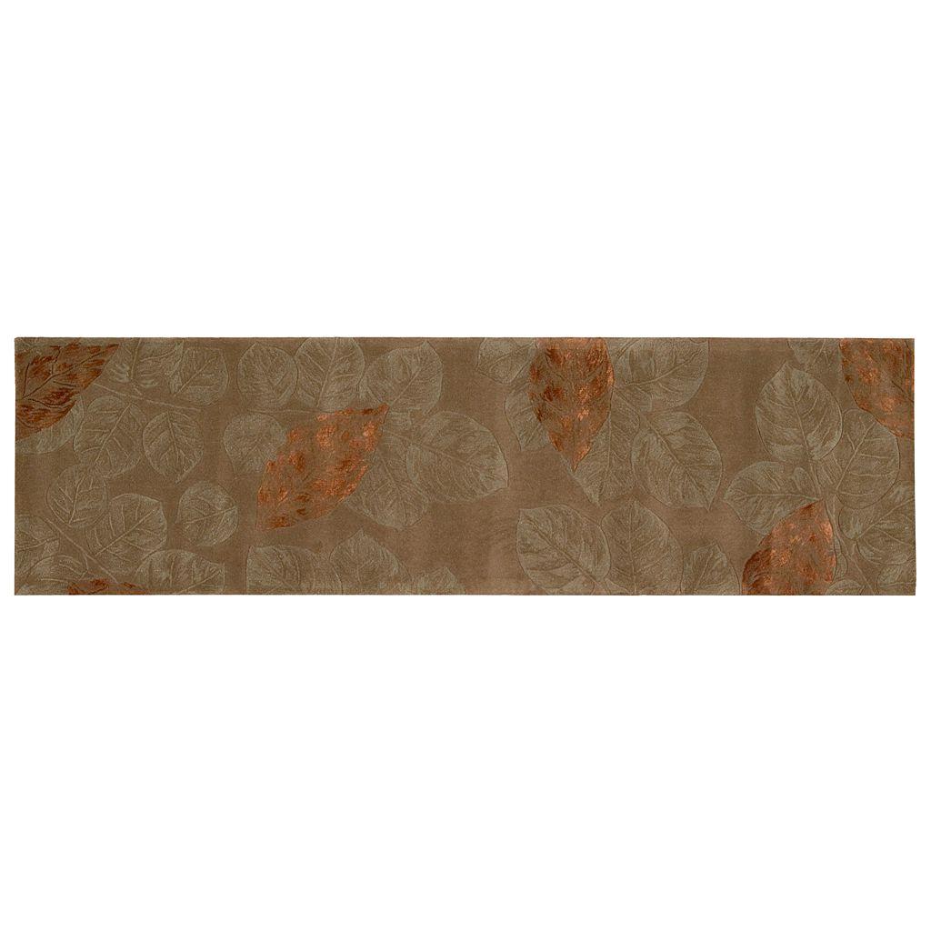 Nourison Julian Leaf Wool Rug