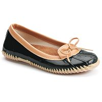 Western Chief Classic Duck Women's Skimmer Waterproof Rain Flats
