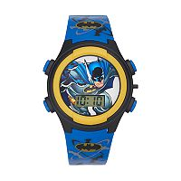 DC Comics Batman Kids' Digital Light-Up Watch
