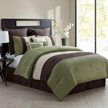VCNY Essex 8-pc. Reversible Comforter Set