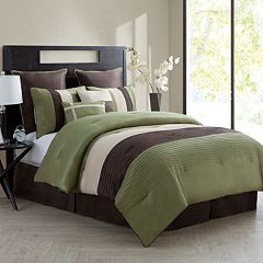 VCNY Essex 8 pc Reversible Comforter Set