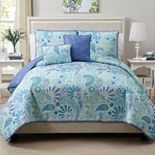VCNY Home Harmony 5-pc. Reversible Quilt Set