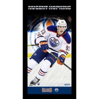 "Steiner Sports Edmonton Oilers Ryan Nugent 10"" x 20"" Player Profile Wall Art"