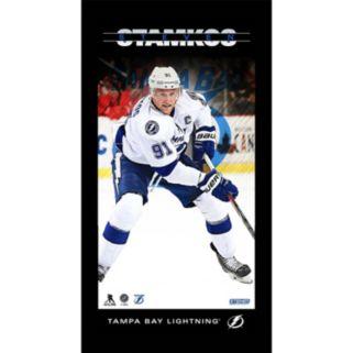 "Steiner Sports Tampa Bay Lightning Steven Stamkos 10"" x 20"" Player Profile Wall Art"