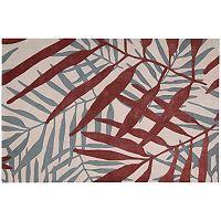 Nourison Contour Palm Leaf Rug