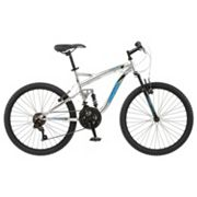 Boys Mongoose Status 2.2 24 in Full Suspension Mountain Bike
