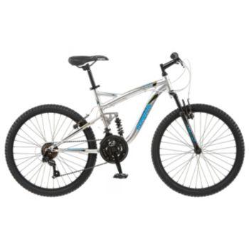 Boys Mongoose Status 2.2 24-in. Full Suspension Mountain Bike