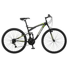 Men's Mongoose Status 2.2 26 in Full Suspension Mountain Bike