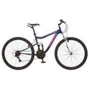 Women's Mongoose Status 2.2 26 in Full Suspension Mountain Bike