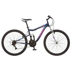 Women's Mongoose Status 2.2 26-in. Full Suspension Mountain Bike