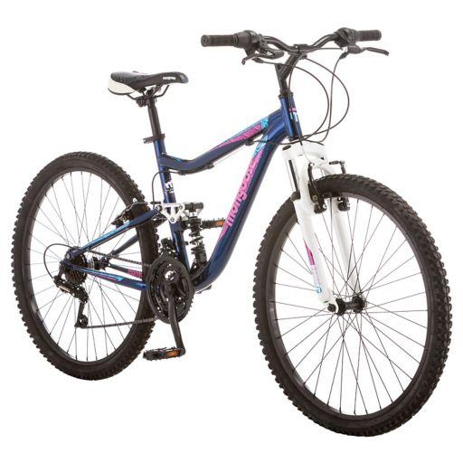 Women's Mongoose Status 2.2 26-in. Full Suspension Mountain Bike