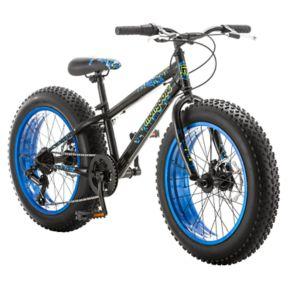 Boys Mongoose Pug 20-in. Fat Tire Bike
