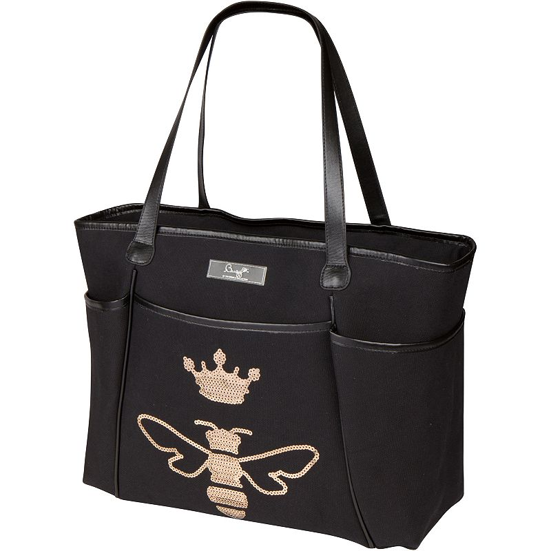 The Bumble Collection Tote Diaper Bag, Black
