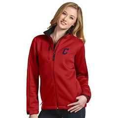 Women's Antigua Cleveland Indians Traverse Jacket