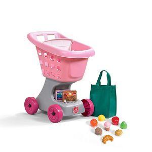 Step2 Shopping Cart with Bonus Food and Bag