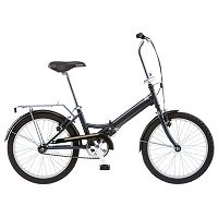 Unisex Schwinn Hinge 1-Speed 20 in Folding Bike