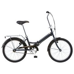 Unisex Schwinn Hinge 1-Speed 20-in. Folding Bike