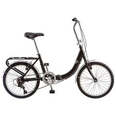 Unisex Schwinn Loop 7-Speed 20 in Folding Bike