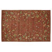 Nourison Julian Floral Wool Rug
