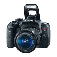 Canon EOS Rebel T6i EF-S DSLR Camera & 18-55mm IS STM Camera Lens Kit