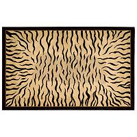 Nourison Dimensions Tiger Wool Rug