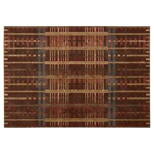 Nourison Somerset Geometric Plush Rug
