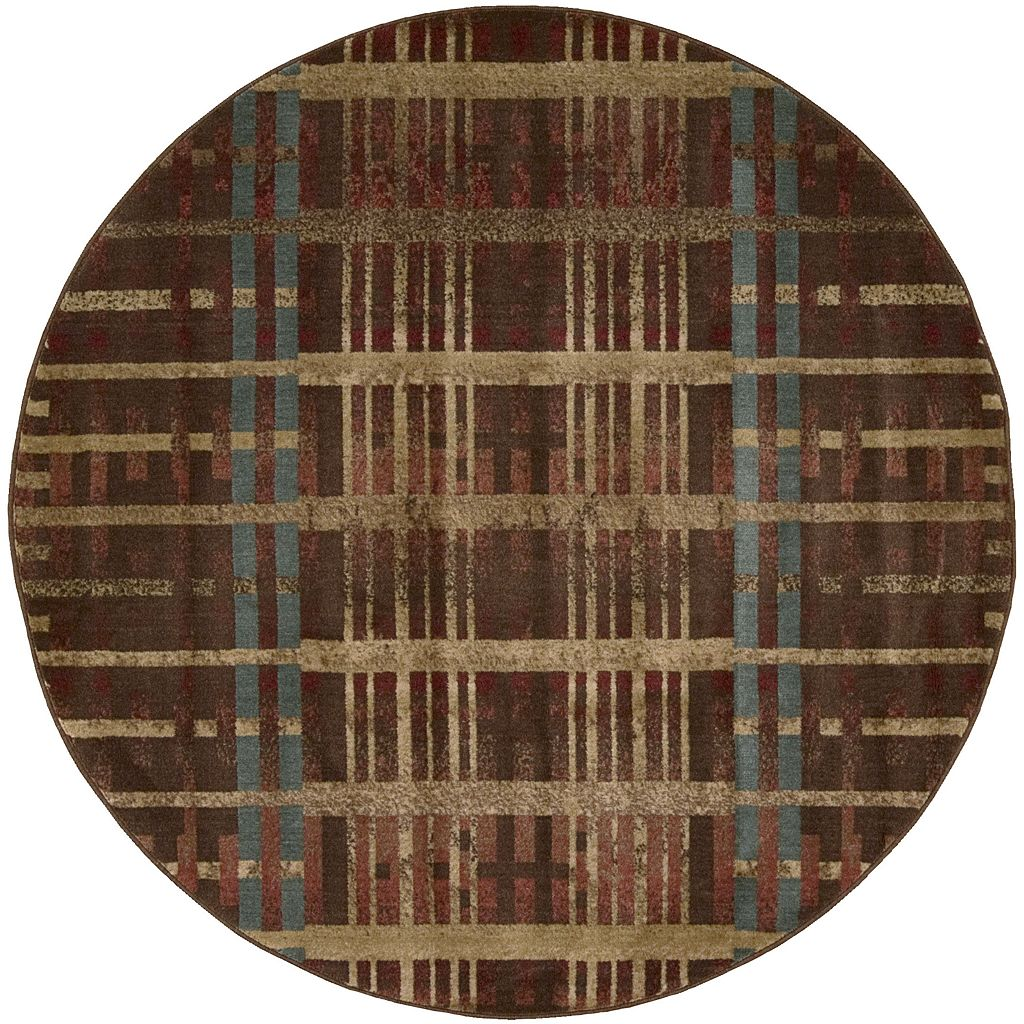 Nourison Somerset Geometric Plush Rug