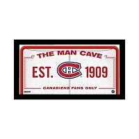 Steiner Sports Montreal Canadiens Framed 10