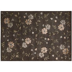 Nourison Oasis Floral Wool Rug
