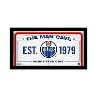 Steiner Sports Edmonton Oilers Framed 10