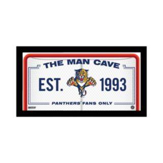 "Steiner Sports Florida Panthers Framed 10"" x 20"" Man Cave Sign"