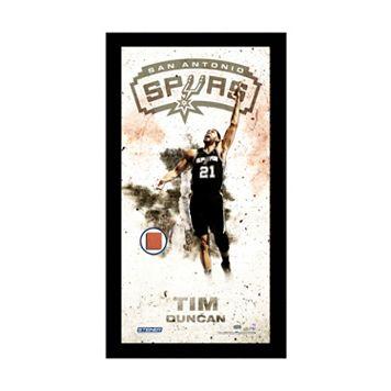 Steiner Sports San Antonio Spurs Tim Duncan 10
