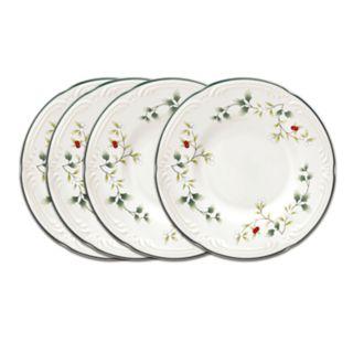 Pfaltzgraff Winterberry 4-pc. Appetizer Plate Set