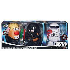 Star Wars Mr. Potato Head Darth Tater & Luke Frywalker Figure & Accessory Set by Playskool  by