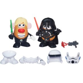 Star Wars Mr. Potato Head Darth Tater & Luke Frywalker Figure & Accessory Set by Playskool