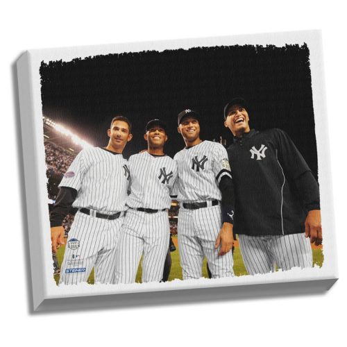 Steiner Sports New York Yankees Core Four 22 x 26 Stretched Canvas