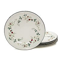 Pfaltzgraff Winterberry 4 pc Dinner Plate Set