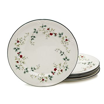 Pfaltzgraff Winterberry 4-pc. Dinner Plate Set