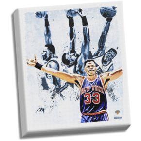 "Steiner Sports New York Knicks Patrick Ewing ""Light"" 22"" x 26"" Stretched Canvas"