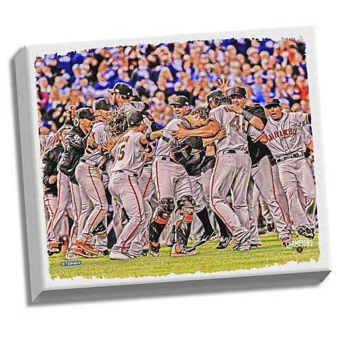 Steiner Sports San Francisco Giants 2014 World Series Champions 22″ x 26″ Stretched Canvas