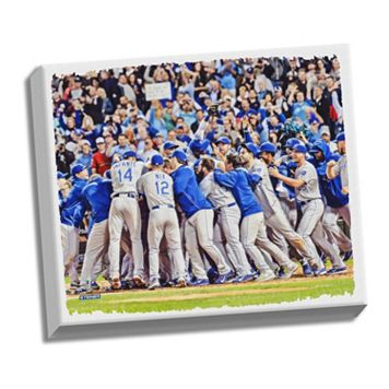 Steiner Sports Kansas City Royals Wild Card Berth Celebration Sept 26, 2014 22