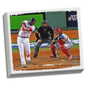 "Steiner Sports Boston Red Sox David Ortiz 22"" x 26"" Stretched Canvas"