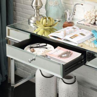 HomeVance Eleos Mirrored Desk
