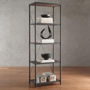 HomeVance Fallbrook Bookshelf