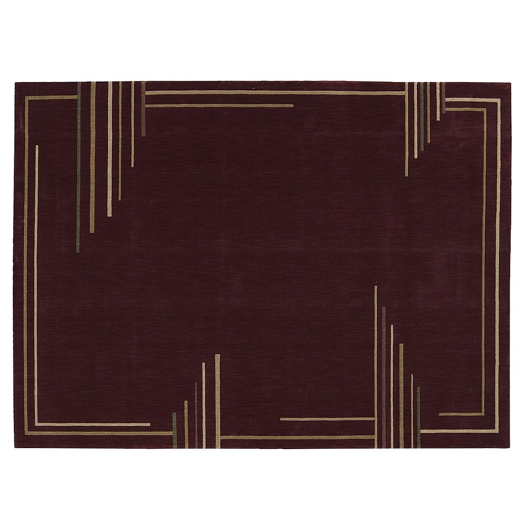 Nourison Parallels Striped Rug