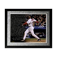 Steiner Sports Boston Red Sox Johnny Damon Reverse the Curse Facsimile 16