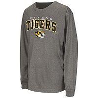 Boys 8-20 Campus Heritage Missouri Tigers Slate Tee